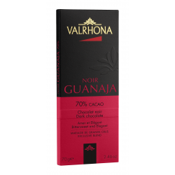 Chocolat Noir Guanaja Tablette 70 g  - Valrhona