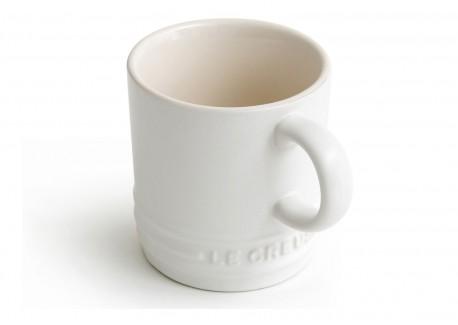 Mug 35 cl Blanc Coton Mate  - Le Creuset