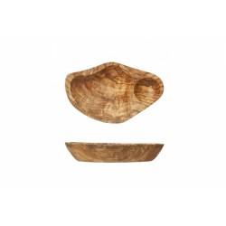 Assiette Bois d'Olivier 14 cm - Cosy Trendy