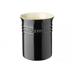 Pot à Ustensiles Noir Ebène