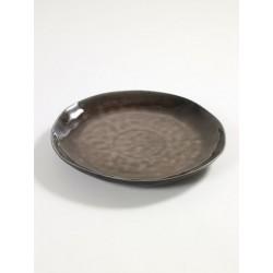 Pascale Naessens Pure Assiette Ronde 28 cm Brun - Serax
