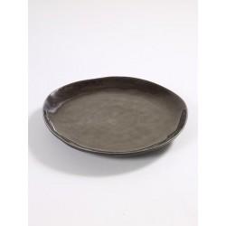 Pascale Naessens Pure Bord Rond 28 cm Grijs - Serax