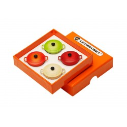 Set 4 Magnet Cocottes  - Le Creuset