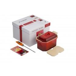 Terrine Set Foie Gras 60cl Rouge Cerise  - Le Creuset