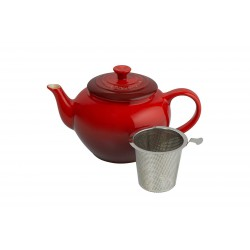 Theepot met Filter 100 cl Kersenrood - Le Creuset