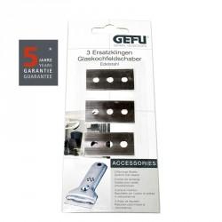 Vervangern Bladen Schraper voor keramische kookplaat - Gefu
