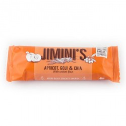 Eiwitreep Abrikoos, Goji en Chia 40 g - Jimini's