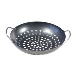 Bbq Wok met Hangrepen 28 cm - Point Virgule
