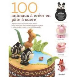 100 Animaux Pâte à Sucre  - Marabout