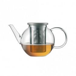 Glas Theekan met RVS Filter 0,40 l - Jenaer Glass