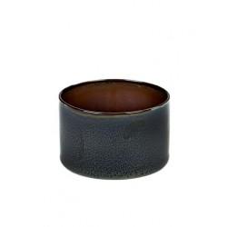 Anita Le Grelle Terres de Rêves Goblet Cylindre Bas 7 cm Rust/Dark Blue - Serax