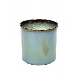Anita Le Grelle Terres de Rêves Goblet Cylindre Haut 7 cm Smokey Blue - Serax