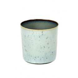 Anita Le Grelle Terres de Rêves Goblet Cylindre Haut 7 cm Smokey/Light Blue - Serax