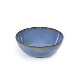 Anita Le Grelle Terres de Rêves Saladier 27 cm Smokey Blue