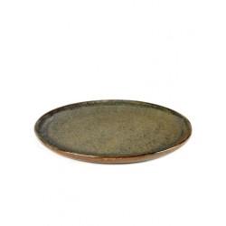 Sergio Herman Surface Assiette L 27 cm Indi Grey  - Serax