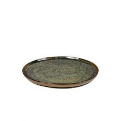 Sergio Herman Surface Assiette M 24 cm Indi Grey  - Serax