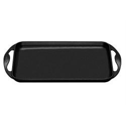 Plancha Rectangulaire 33x22 cm Noir  - Le Creuset