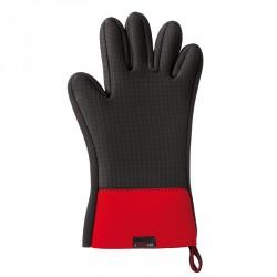 Gant Néoprène/Silicone Noir et Rouge