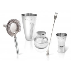 Coffret Cocktail avec Shaker 4 pcs  - Vin Bouquet