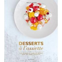 Desserts à l'assiette  - Marabout