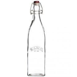 Glazen Vierkante Fles met Beugelsluiting 550 ml