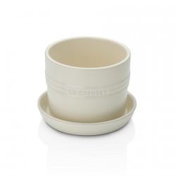 Pot à Aromates Blanc Crème  - Le Creuset