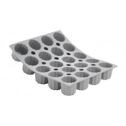 Elastomoule Bakvorm 20 Mini-Cannelés - De Buyer