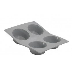 Elastomoule Bakvorm 4 Muffins - De Buyer