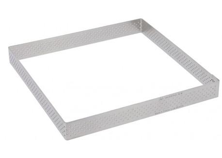 Vierkant Taartvorm Valrhona 20 cm - De Buyer