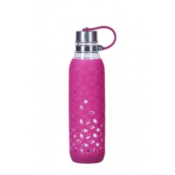 Purity Glazen Waterfles 590 ml Roze  - Contigo