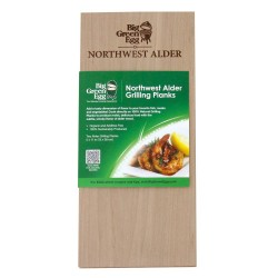 Wooden Grilling Planks 28 cm Els 2 dlg - Big Green Egg