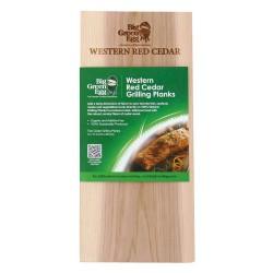 Planchettes de Bois à Griller/Fumer 28 cm Cèdre 2 pcs - Big Green Egg
