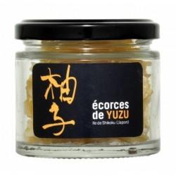 Ecorces Confites Citron Yuzu 50g - Sur les Quais