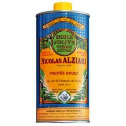 Huile d'Olive Extra Vierge Fruitée douce 500 ml - Nicolas Alziari