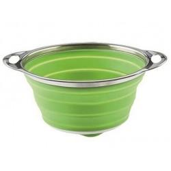 Sico Passoire Pliable Vert 20 cm   - Moha