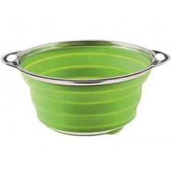 Sico Passoire Pliable Vert 24 cm   - Moha