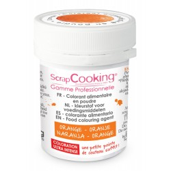 Colorant Orange (ou Orange Mandarine) 5g  - Scrapcooking