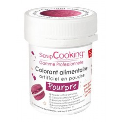 Colorant Poudre Pourpre 5 g - Scrapcooking