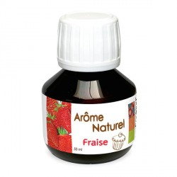 Arome Naturel Fraise 50 ml  - Scrapcooking