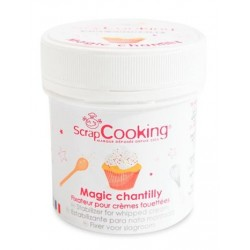 Préparation Magic Chantilly 50 g - Scrapcooking