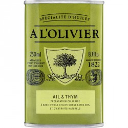 Olijfolie Look - Thym 250ml - A l'Olivier