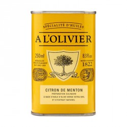 Huile d'Olive Citron de Menton 250 ml - A l'Olivier