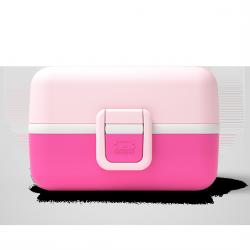 Tresor Bento LunchBox Kids Rose Litchi  - MonBento