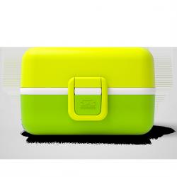 Tresor Bento LunchBox Kids Vert Lime  - MonBento
