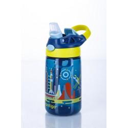 Gizmo Flip Kids Waterfles 420ml Nautical Blue Space  - Contigo