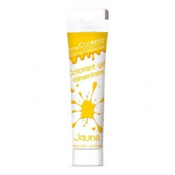 Colorant Gel Jaune 20 g  - Scrapcooking