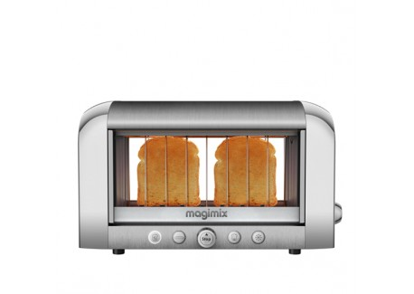 Grille Pain Le Toaster Vision Chrome Mat - Magimix