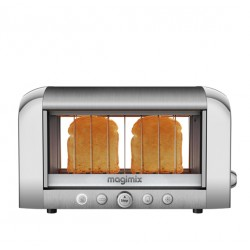 Broodrooster Le Toaster Vision Mat Chroom - Magimix