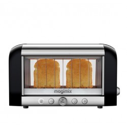 Broodrooster Le Toaster Vision Zwart - Magimix