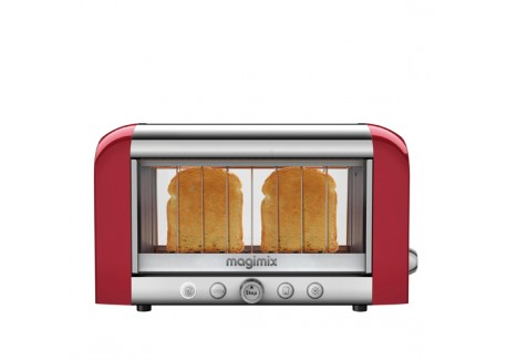 Grille Pain Le Toaster Vision Rouge - Magimix